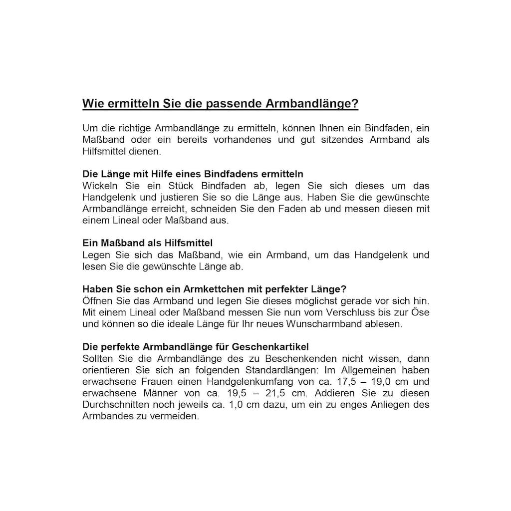 Firetti Goldarmband »in Zopfkettengliederung«