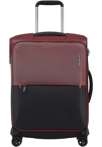 Samsonite Weichgepäck-Trolley »Rythum, 55 cm, burgundy«, 4 Rollen kaufen