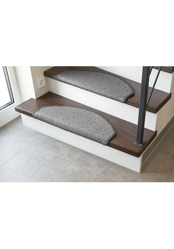 LUXOR living Stufenmatte »Sheffield«, halbrund, 5 mm Höhe, Schurwolle, melierte... kaufen
