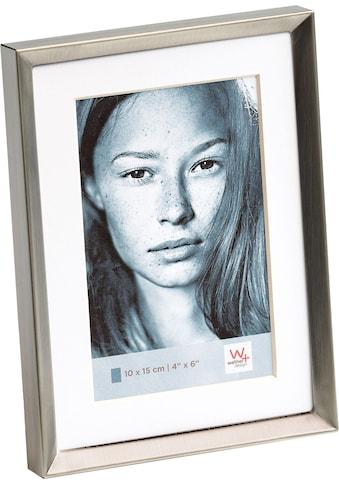 Home affaire Portraitrahmen »Emma«, Fotorahmen, mit Passepartout, grau kaufen