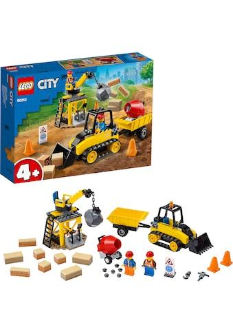 LEGO® Konstruktionsspielsteine »Bagger auf der Baustelle (60252), LEGO® City Great... kaufen