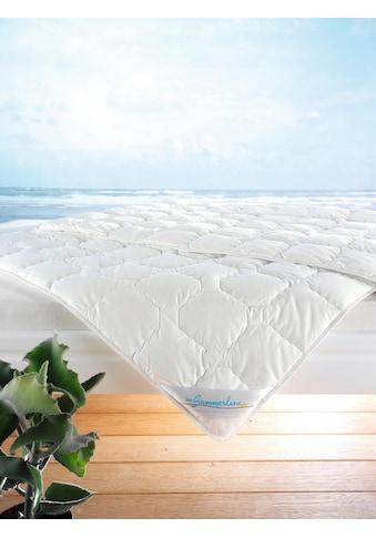 f.a.n. Schlafkomfort Baumwollbettdecke »Wash Cotton«, leicht, Füllung Reine Baumwolle... kaufen