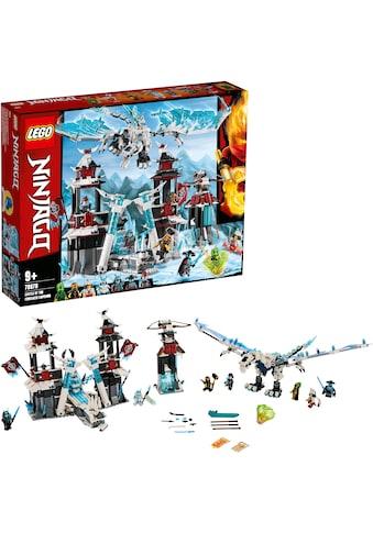 """LEGO® Konstruktionsspielsteine """"Festung im ewigen Eis (70678), LEGO® NINJAGO®"""", Kunststoff, (1218 - tlg.) kaufen"""