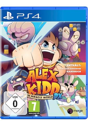 PlayStation 4 Spiel »Alex Kidd in Miracle World DX«, PlayStation 4 kaufen