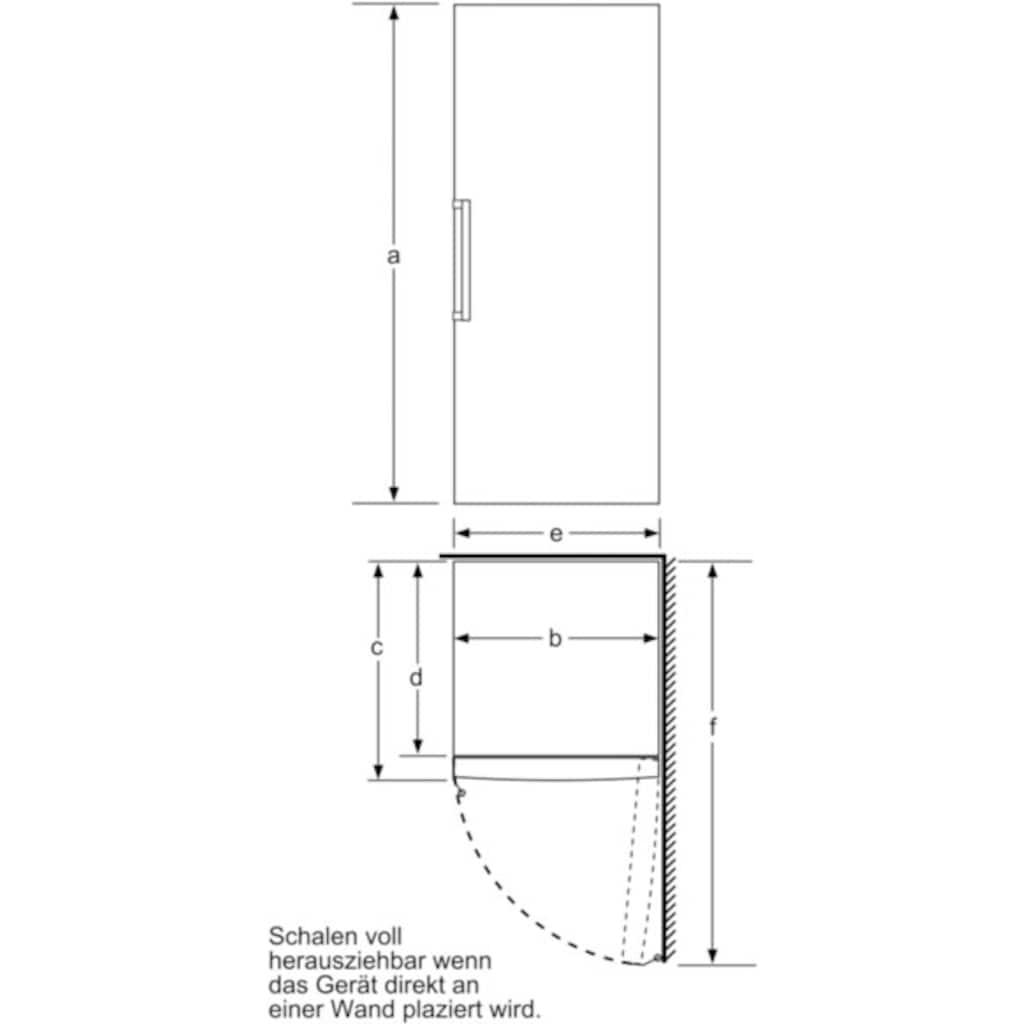 BOSCH Gefrierschrank »GSN54AWDV«, 6, 176 cm hoch, 70 cm breit
