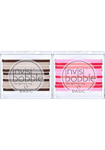 invisibobble Haargummi »BASIC«, Jelly Twist & Mocca and Cream kaufen