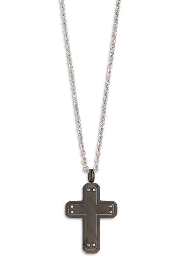 XENOX Kette mit Anhänger »Kreuz Eden Elements, X4076B« | Schmuck > Halsketten > Ketten mit Anhänger | XENOX