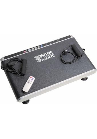 MOTIVE FITNESS by U.N.O. Vibrationsplatte »Elegance«, 30 Intensitätsstufen 200 Watt (Set, mit Trainingsbändern) kaufen
