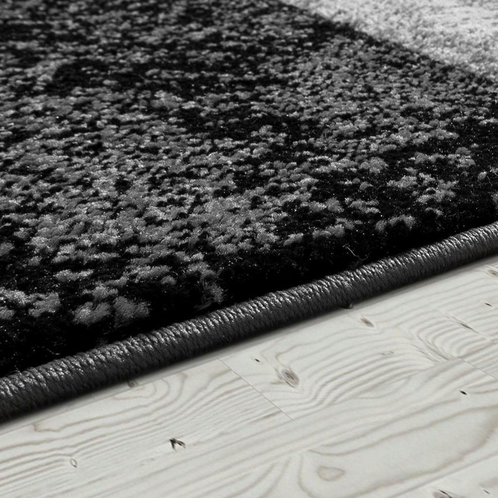 Paco Home Teppich »Inferno 757«, rechteckig, 17 mm Höhe, Kurzflor mit wohnlichem Design, Wohnzimmer