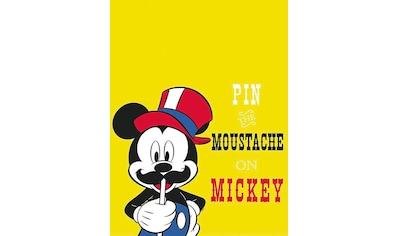 KOMAR XXL Poster »Mickey Mouse Moustache« kaufen