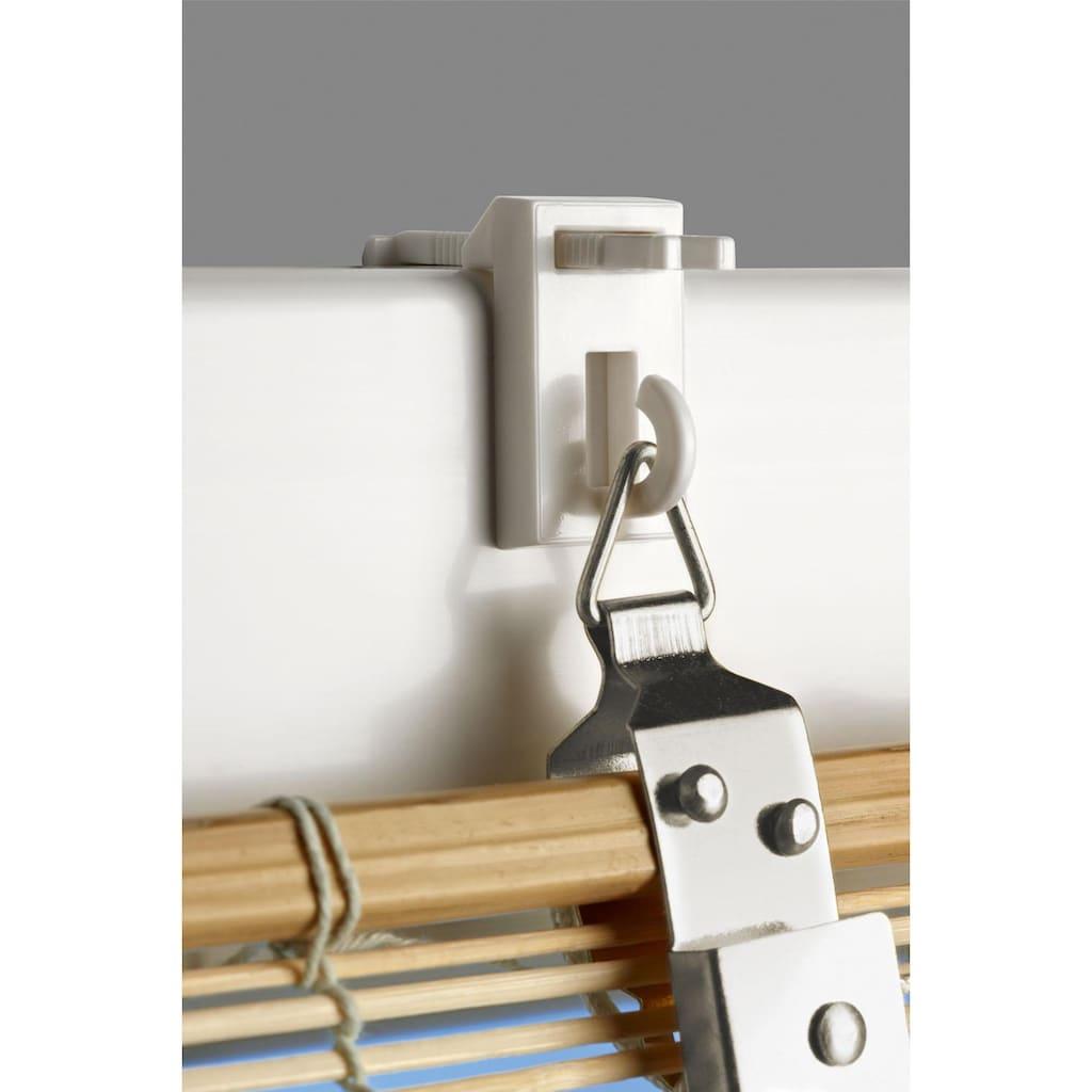Good Life Bändchenrollo »CHE«, mit Ösen, mit Bohren, freihängend, Montage ohne Bohren möglich (Zubehör notwendig)