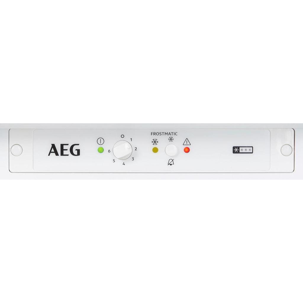 AEG Einbaugefrierschrank »ABB660F1AS«, 60 cm hoch, 56 cm breit