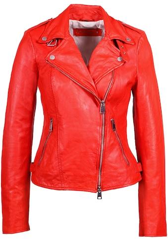Freaky Nation Lederjacke »New Undress Me!-FN«, Bikerjacke mit coolen Zipper-Details kaufen