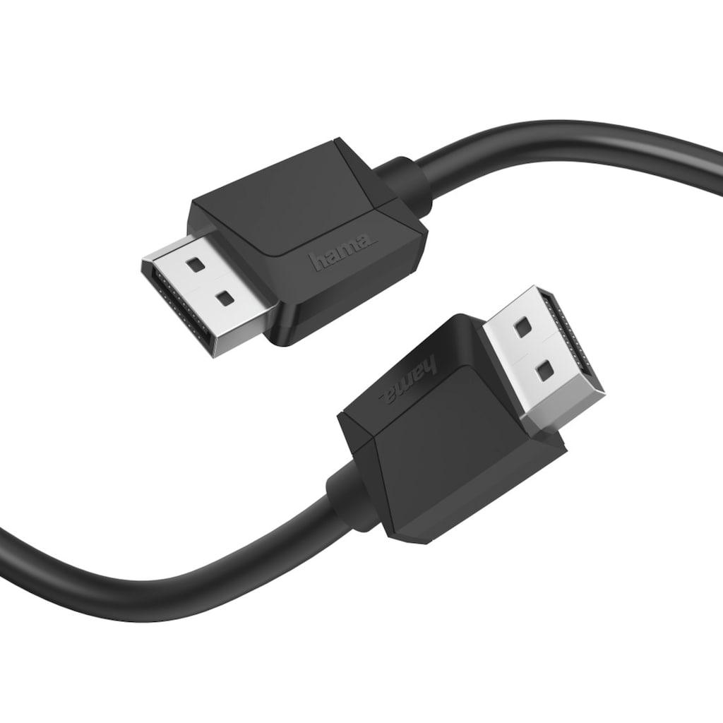 Hama Computer-Kabel »4096 x 2160 (4K) Bildpunkte«, DisplayPort, 300 cm, DisplayPort-Kabel, DP 1.2, Ultra-HD 4K, 3,00m