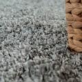 Paco Home Hochflor-Teppich »Next 570«, rechteckig, 60 mm Höhe, Hochflor-Shaggy, Wohnzimmer