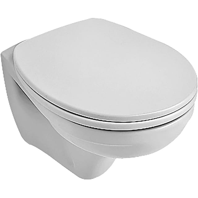 VILLEROY & BOCH Tiefspül-WC »O.novo«, Compact, wandhängend Weiß Alpin
