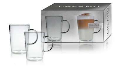 Creano Latte-Macchiato-Glas, (Set, 2 tlg.) kaufen