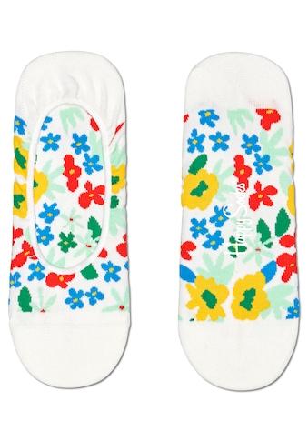 Happy Socks Füßlinge »Flower«, bunt geblühmt kaufen