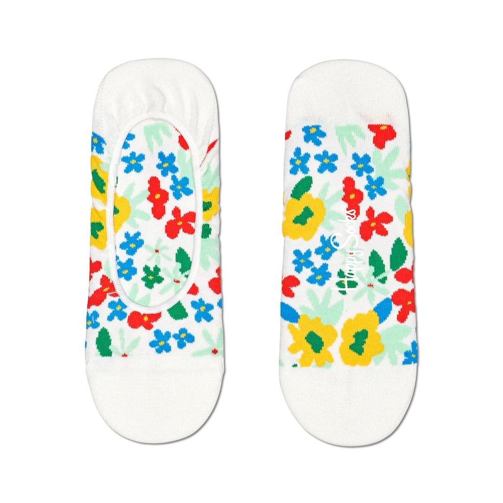 Happy Socks Füßlinge »Flower«, bunt geblühmt