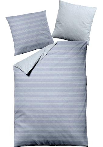 Dormisette Wendebettwäsche »Querstreifen«, aus gefärbten Garnen kaufen