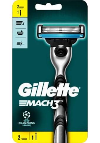 """Gillette Nassrasierer """"Mach 3"""", 3 - tlg. kaufen"""
