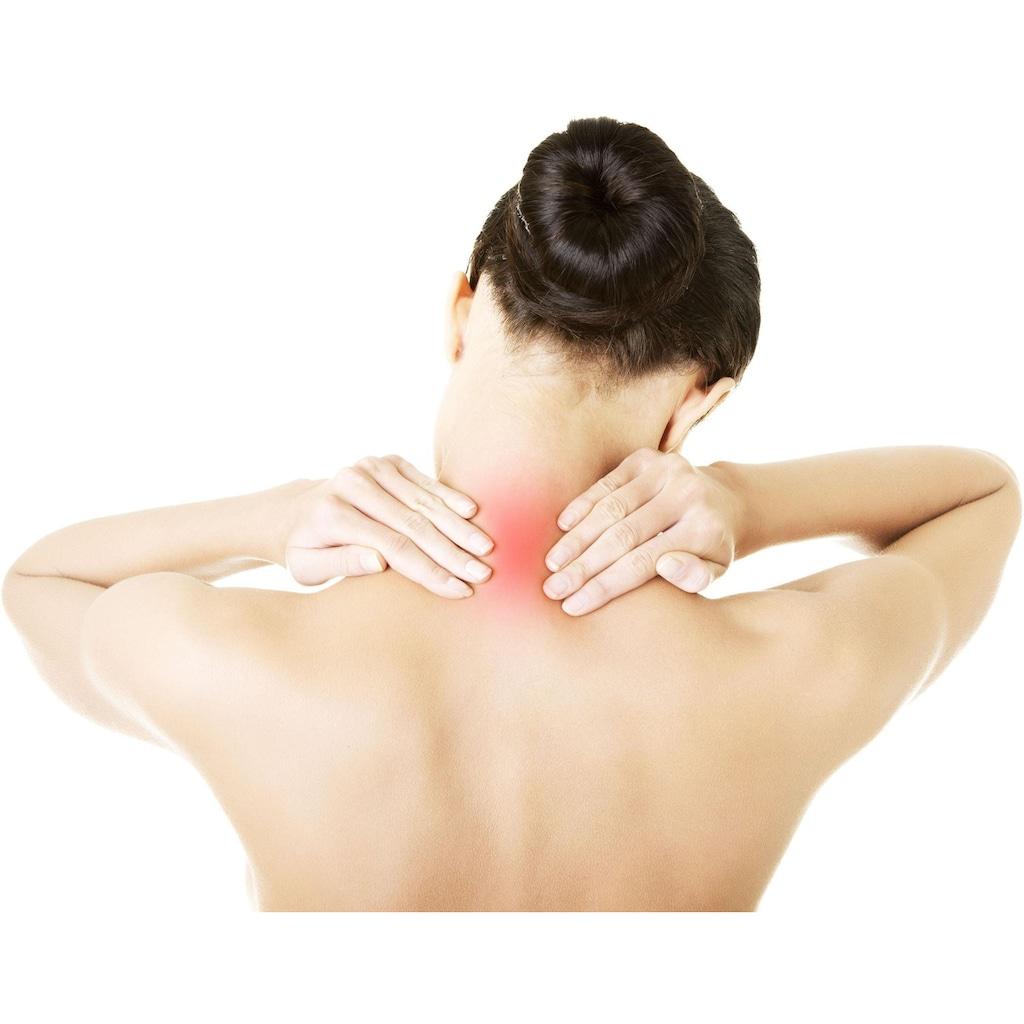 Maximex Nacken-Massagegerät »Nackenmasseur«, 4-fache Wellness-Power für die beanspruchte Nackenpartie