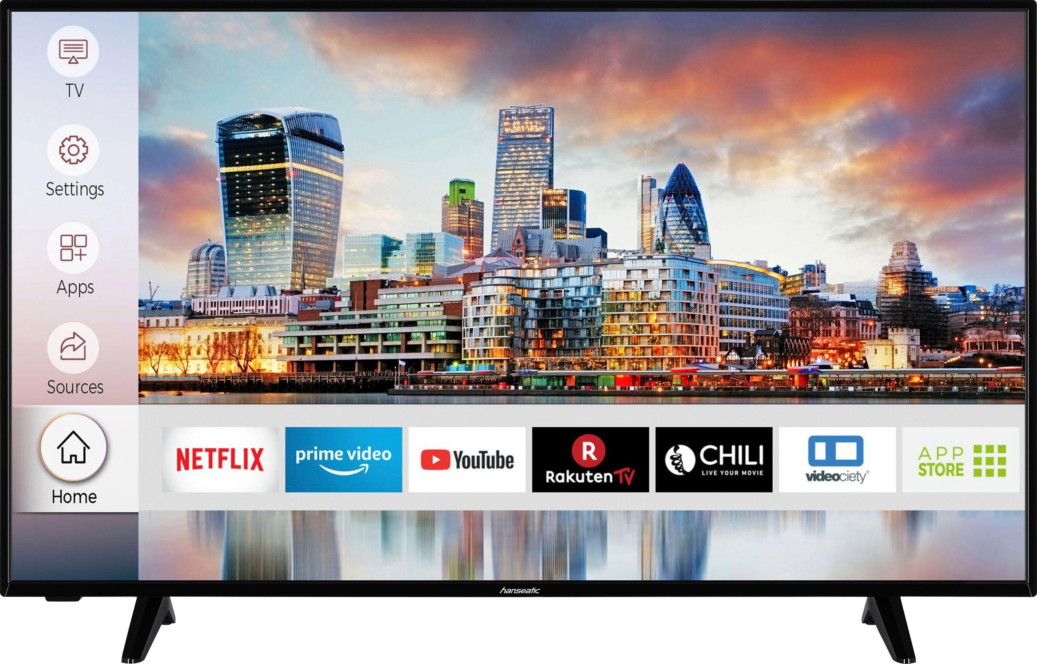 Hanseatic LED-Fernseher 50H600UDSI , 126 cm 50 , 4K Ultra HD, Smart-TV, HDR10