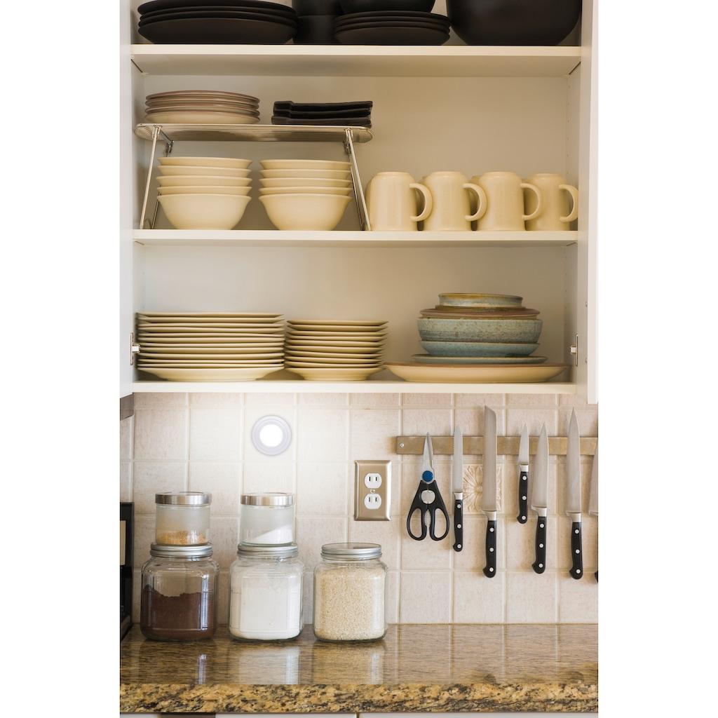 MediaShop LED Wandleuchte »HANDY Lux«, LED-Board, 5 St., Farbwechsler, Set mit 5 Lampen und Fernbedienung, Farbwechsel, Kabellos, leicht & fexibel einsetzbar, einfache Montage - kein bohren & schrauben