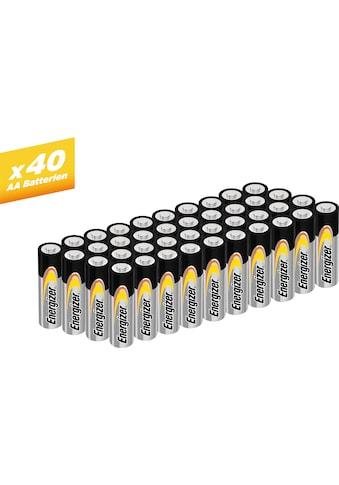 Energizer Batterie »Alkaline Power Mignon (AA) 40 Stück«, (40 St.) kaufen