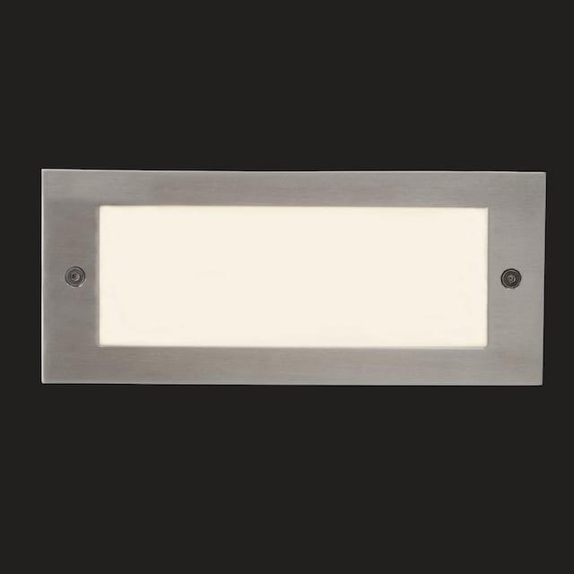 AEG Wall LED Außenwandeinbauleuchte eisen/mattglas
