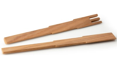 Continenta Salatbesteck »Pixel«, (Set, 2 tlg.), Eichenholz, jedes Stück ein Unikat kaufen