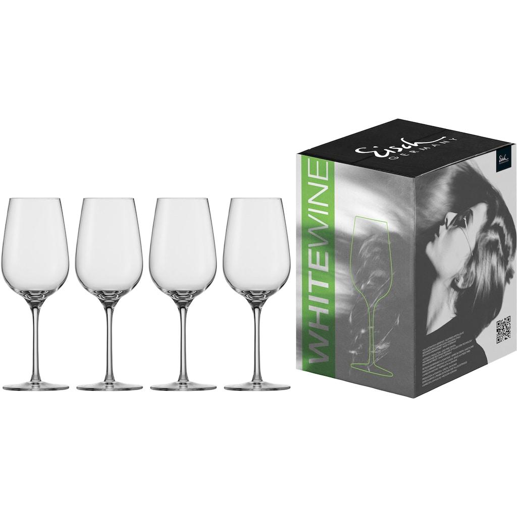 Eisch Weißweinglas »Vinezza«, (Set, 4 tlg.), bleifrei, 360 ml, 4-teilig
