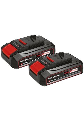 Einhell Akku »18V 2,5Ah PXC-Twinpack CB«, 18,0 V kaufen