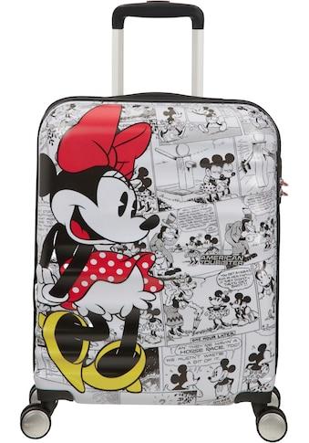 """American Tourister® Hartschalen - Trolley """"Wavebreaker Disney, 55 cm, Minnie White"""", 4 Rollen kaufen"""