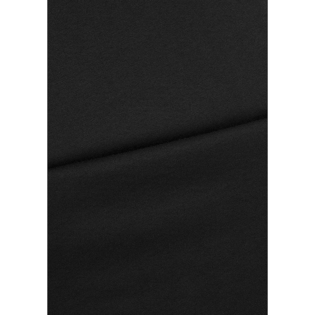 Melrose Negligé, mit kontrastfarbener Spitze & Zierschleifen