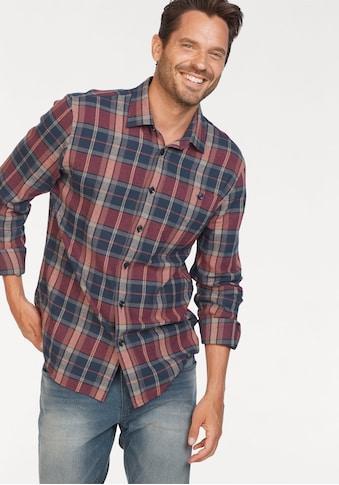 Man's World Flanellhemd, Karomuster kaufen