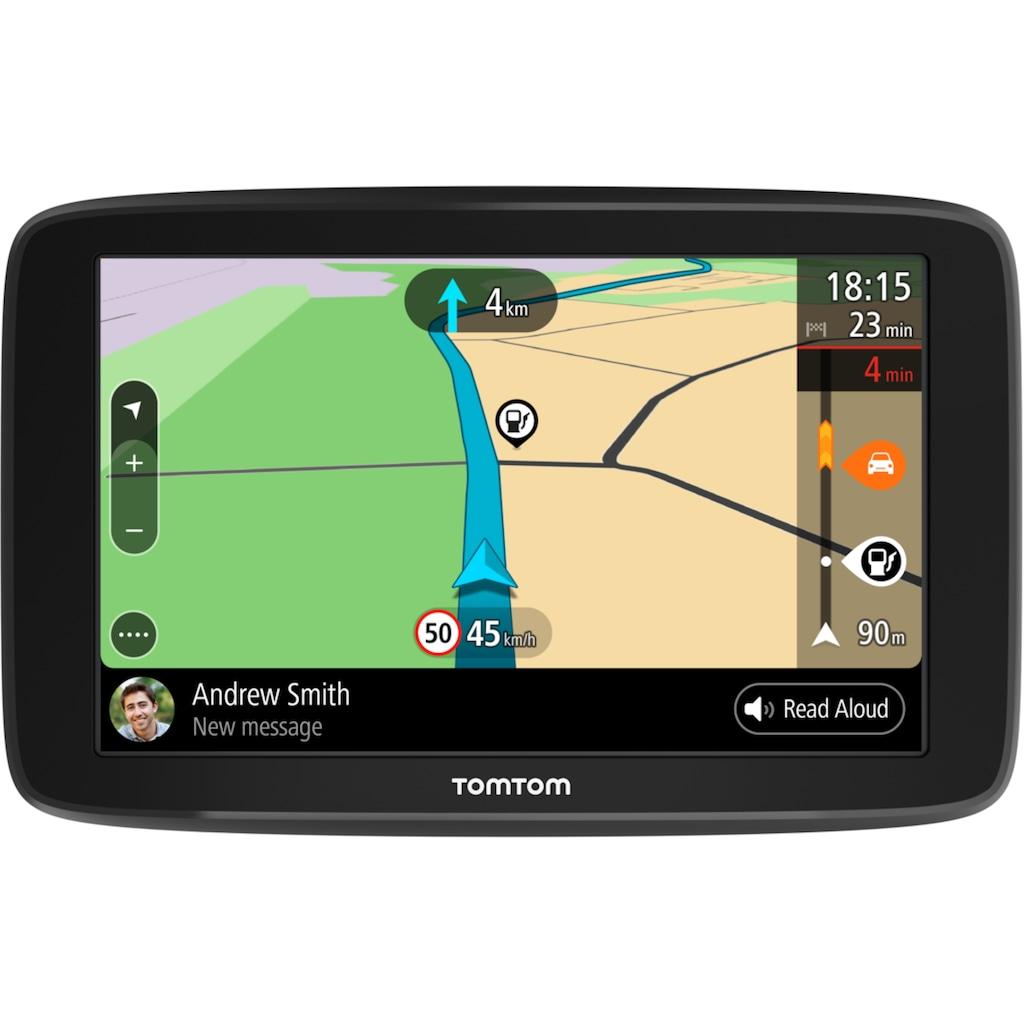 TomTom Navigationsgerät »GO BASIC 15,24 cm (6 Zoll) EU 45«, Navigationsgerät