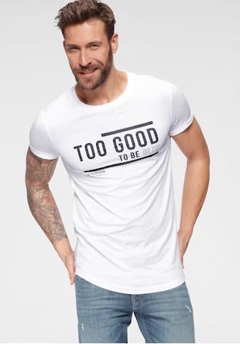 TOM TAILOR Denim T-Shirt, mit Frontprint kaufen