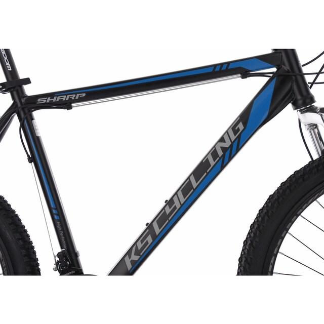 KS Cycling Mountainbike »Sharp«, 21 Gang Shimano Tourney Schaltwerk, Kettenschaltung