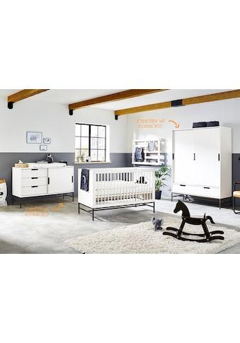 Pinolino® Babyzimmer-Komplettset »Steel«, (Set, 3 St.), extrabreit groß; mit... kaufen
