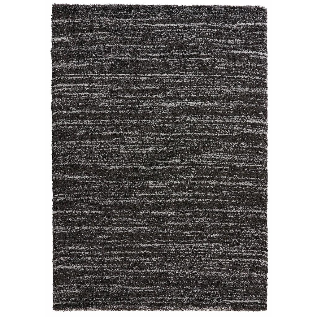 MINT RUGS Hochflor-Teppich »Delight«, rechteckig, 30 mm Höhe, melierter Langflor