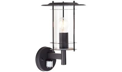 Brilliant Leuchten York Außenwandleuchte stehend Bewegungsmelder schwarz kaufen