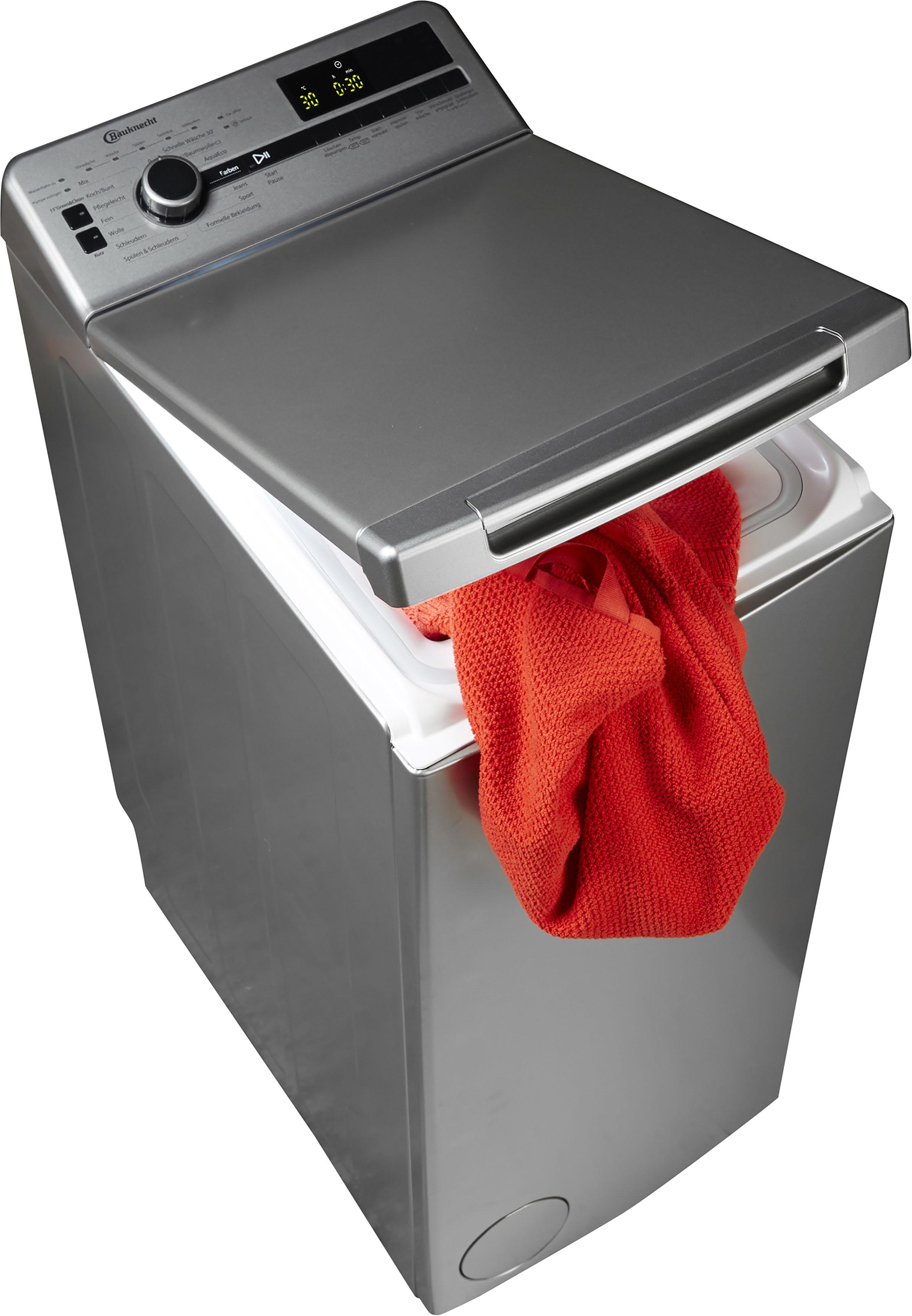 BAUKNECHT Waschmaschine Toplader WMT Silver 7 BD | Bad > Waschmaschinen und Trockner > Toplader | Bauknecht