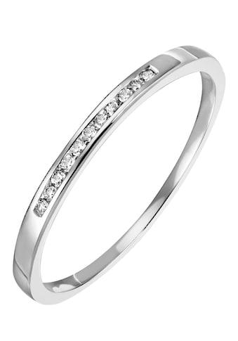 Firetti Diamantring »Funkelnd, ca. 1,80 mm breit, glänzend, massiv«, mit Brillanten kaufen