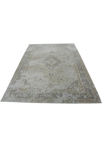Home affaire Teppich »Sahira«, rechteckig, 8 mm Höhe, Vintage-Optik, Wohnzimmer kaufen