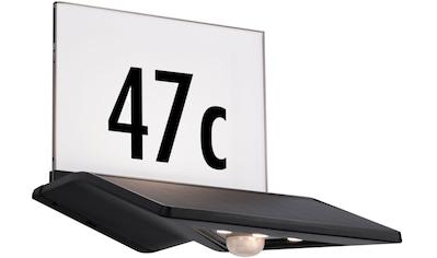Paulmann LED Außen-Wandleuchte »Yoko«, LED-Board, 1 St., Warmweiß, Solar... kaufen