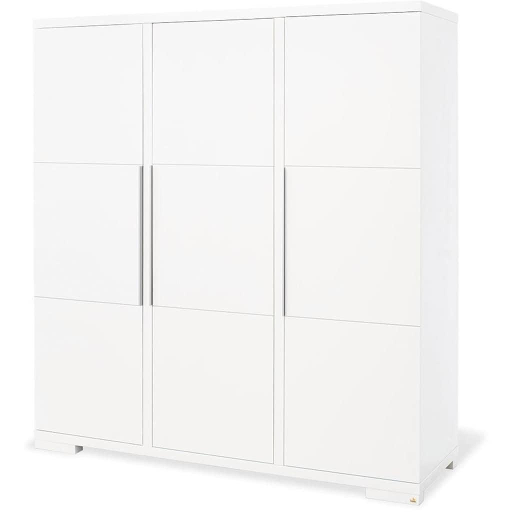 Pinolino® Babyzimmer-Komplettset »Polar«, (Set, 3 St.), breit groß; mit Kinderbett, Schrank und Wickelkommode