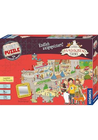 Kosmos Puzzle »Story Puzzle: Die Schule der magischen Tiere, Endlich Ausgegeistert!«,... kaufen