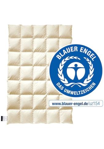 billerbeck Daunenbettdecke »E14 Greta«, normal, (1 St.), Die Decke mit dem blauen Engel kaufen