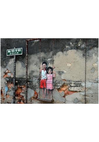 Art & Pleasure Acrylglasbild »Street art swing«, Musiker kaufen